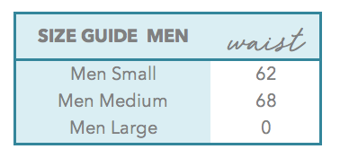 cocoi swim men size guide