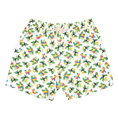toucans men parrots cocoi swim swim shorts swimshorts swimming trunks family swimwear
