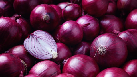 Red onions, especially raw onions, can boost your memory!