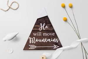 He Will Move Mountains (Set)