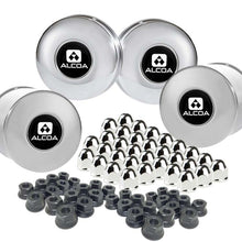 "Load image into Gallery viewer, Alcoa 8 on 6.5"" Lug & Hub Cover Kit"