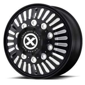 "22.5 Black Aluminum ""Roulette"" Wheel Kit"