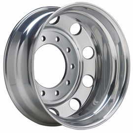 22.5x8.25 Alcoa 10x285mm Hub Pilot Ultra Lightweight 40lbs Dura-Bright Rear