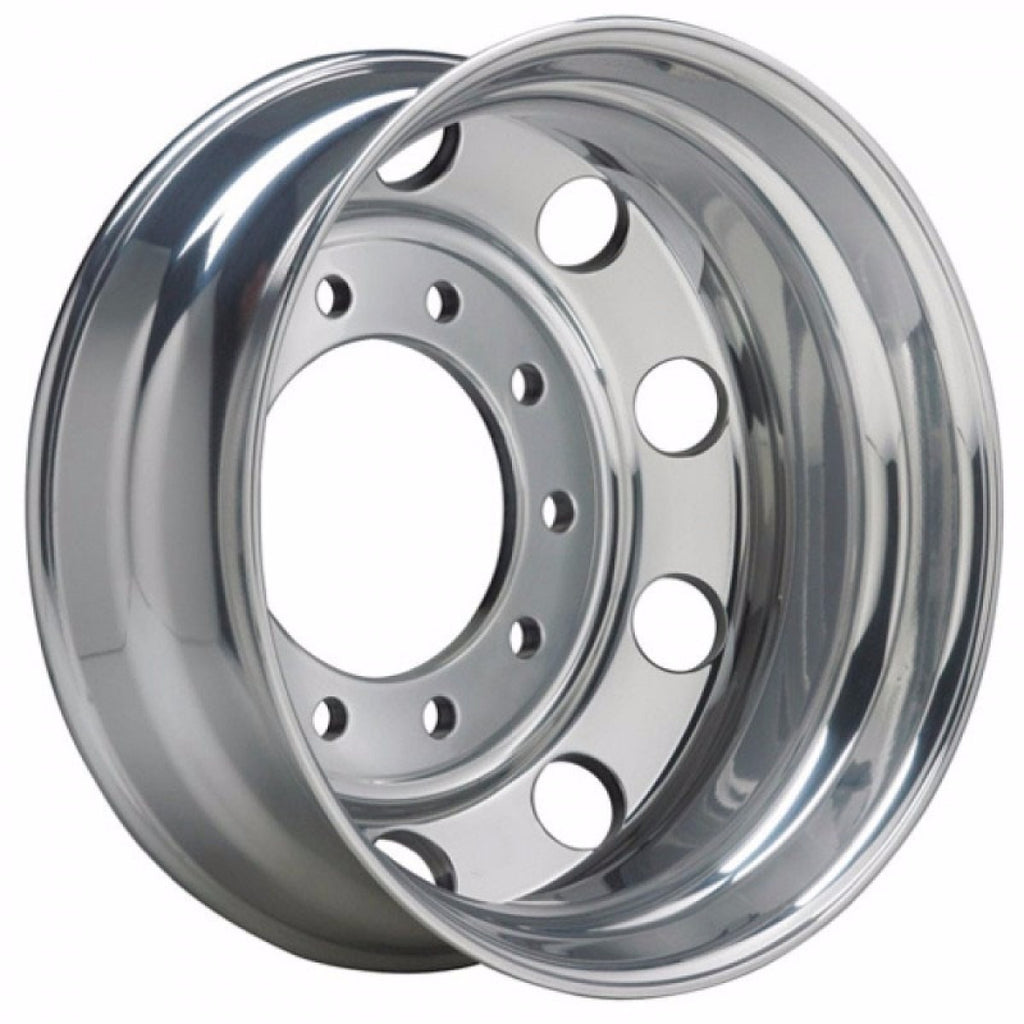22.5x8.25 Alcoa 10x285mm Hub Pilot Ultra Lightweight 40lbs High Polish Rear