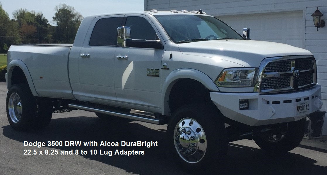 1994 To Current Dodge Ram 3500 DRW 8 To 10 Lug Adapter Kit
