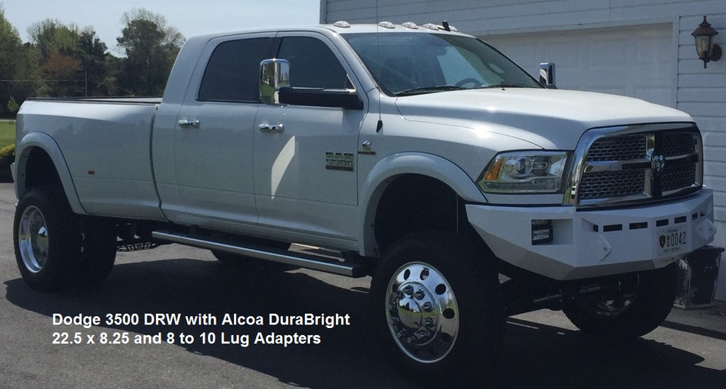 Alcoa Dura-Bright Wheel Adaptor Kit for 22.5 Semi Truck Dually