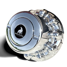 Load image into Gallery viewer, ABS Chrome Rear & Trailer Hub Cover for 10 on 285mm