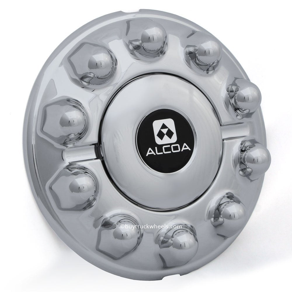 10 lug on 225mm ford dodge front chrome alcoa hub cover