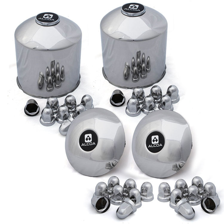 Alcoa Stainless Steel Front/Rear Kit (8 on 275mm, 30mm Push On)