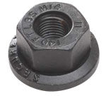 "Load image into Gallery viewer, Two-Piece Flange Nuts 9/16"" Stud 1 1/16"" Hex (Single)"