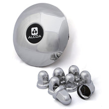 Load image into Gallery viewer, Front Alcoa Stainless Steel Hub & Lug Cover Kit (140230B)