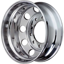 Load image into Gallery viewer, Rear View 24.5 x 8.25 Accuride High Polished Both Sides Aluminum Wheel Kit