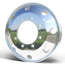 Load image into Gallery viewer, Front View 22.5x7.5 Northstar 8x275mm Hub Pilot Mirror Polished Both Sides