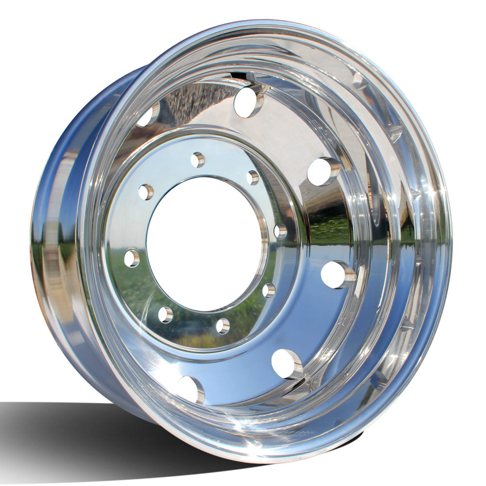 "22.5"" Northstar High Polished Both Sides Chevy 4500/5500 Wheel Kit (8x275)"