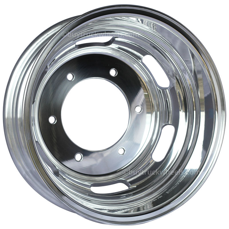 16x5.5 Alcoa 6x205mm Sprinter 3500 High Polish Rear