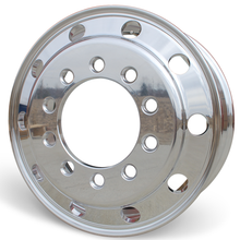 "Load image into Gallery viewer, Front View of Accuride's Stud Piloted 22.5"" by 9.00"" Wheels"