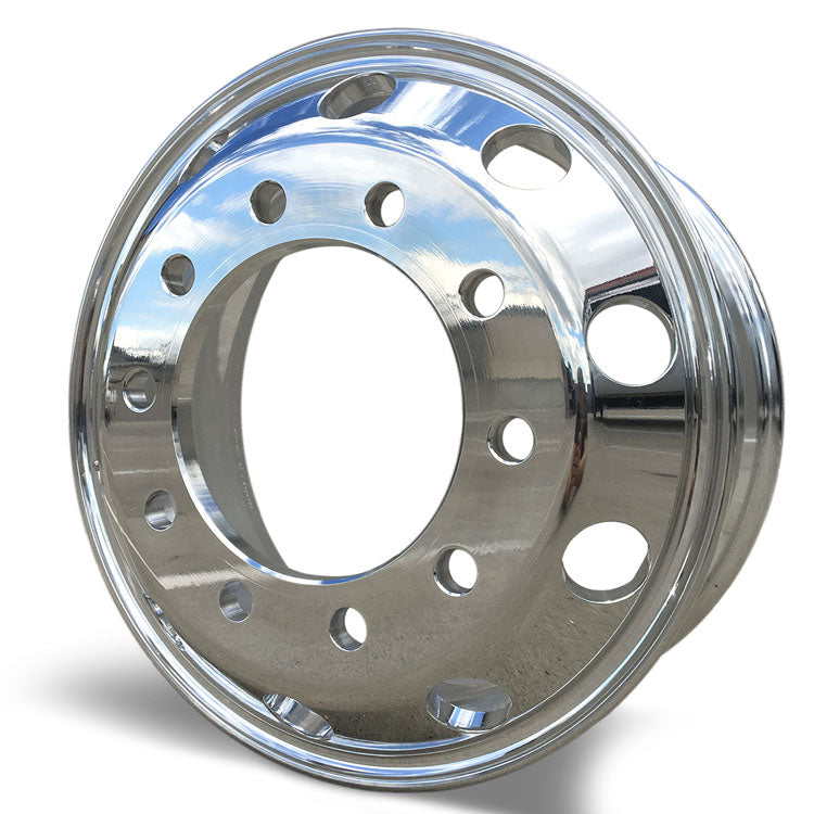 19.5x7.50 Hub Piloted Accuride XP High Polished on Both Sides