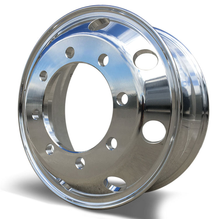 19.5x6.75 Accuride 8x275mm Hub Pilot Standard Polish Both Sides