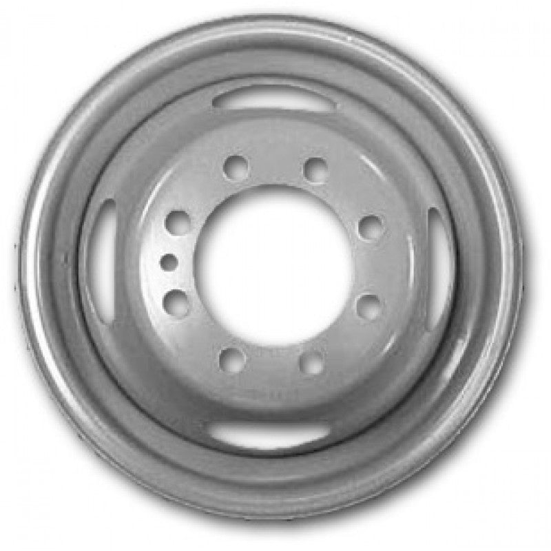 16x6 Accuride 8x170mm Bolt Pattern 125mm Center Bore Grey Steel