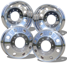 Load image into Gallery viewer, 19.5 Northstar High Polished Both Sides 2005-Present Ford F450/F550 DRW 10x225mm 4 Wheel Kit