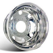 Load image into Gallery viewer, 19.5x6.75 Northstar Mirror Polished Dodge Ram 4500/5500 & Ford F450/F550 (2005-Present) 10x225mm 6 Wheel Kit