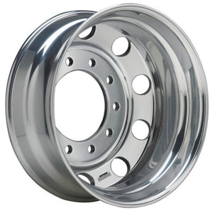 19.5x8.25 Hub Piloted Accuride Wheel-Machine (Matte) Finish