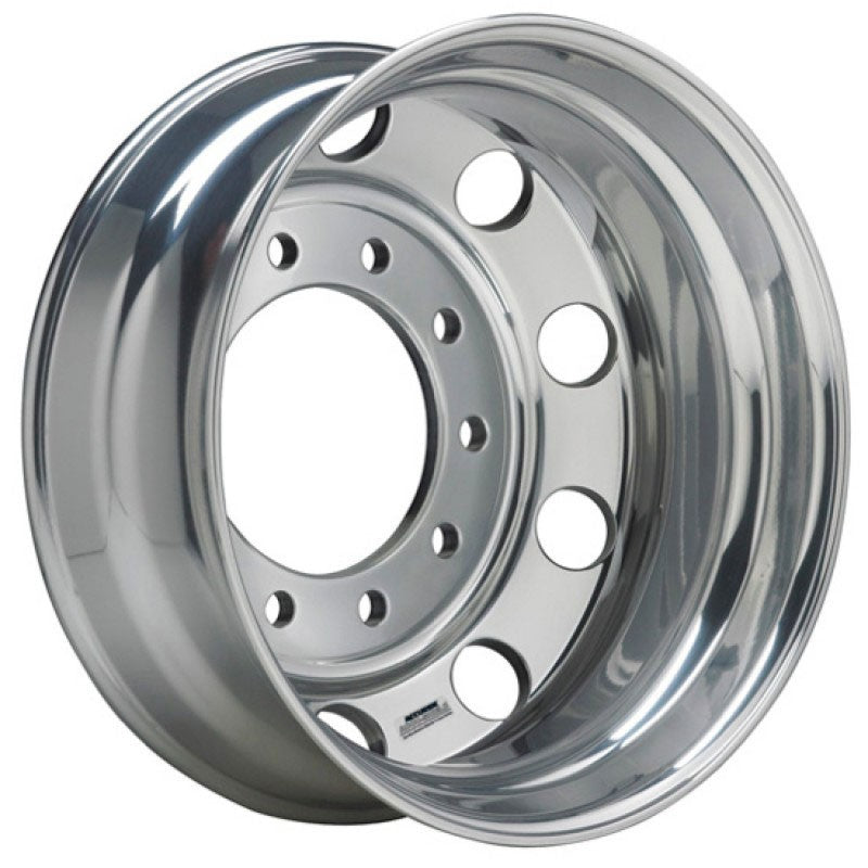 22.5x9 Hub Piloted Accuride All Position Wheel-Polished In (Drive/Trailer)