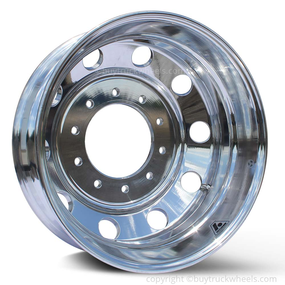 19.5 Accuride 10x225mm High Polished Both Sides Dodge RAM 4500/5500 Kit