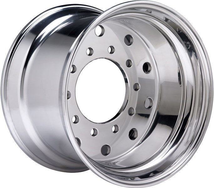 "22.5x14 Hub Pilot X-ONE High Polished Accuride 0"" Offset"