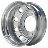 19.5x7.5 Alcoa 10x285mm Hub Pilot High Polish Rear