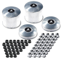 "Load image into Gallery viewer, Northstar 8x6.5"" Hub & Nut Cover Kit (Ford, Chevy, Dodge)"