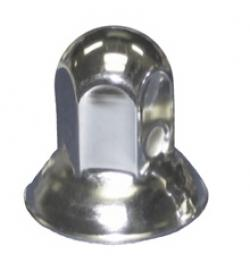 "Stainless Steel Nut Cover 1 1/16"" Hex Nut with Flange"