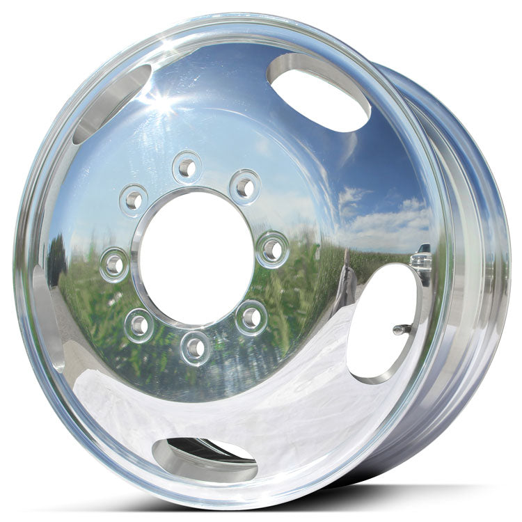 17.0x6.50 Northstar 8x200mm Hub Pilot Polished Both Sides (Ford F350 DRW 2005-Present)