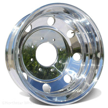 "Load image into Gallery viewer, 19.5 Northstar Polished Both Sides Chevy/GMC 3500 DRW 8X6.5"" 6 Wheel Kit (1973-2010)"