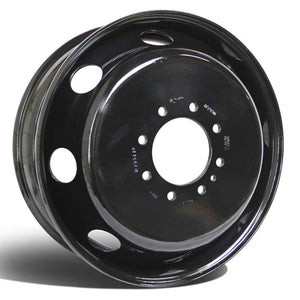 "19.5x6.75 8x6.5"" Black Steel (Dodge Ram 3500 1994-2018)"