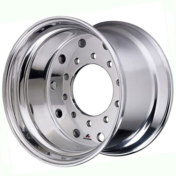 "22.5x14 Hub Pilot X-ONE Accuride 0"" Offset-Standard Polish"