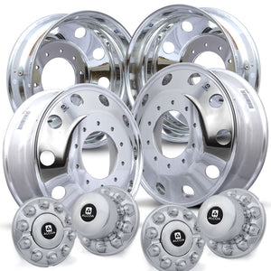 Alcoa 19.5 LvL One Dodge Ram 4500/5500 4 Wheel Kit