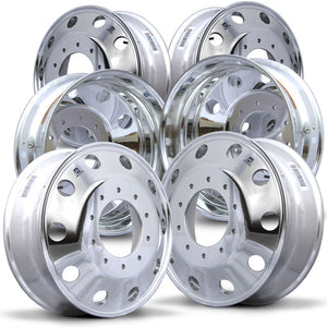 Alcoa 19.5 LvL One Dodge Ram 4500/5500 6 Wheel Kit