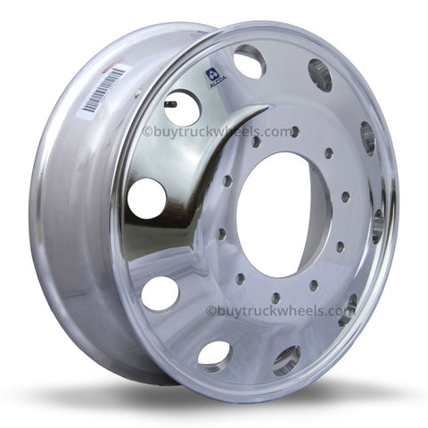 Alcoa 19.5 DuraBright Ford F450/F550 6 Wheel Kit (2005 & Newer 10 Lug)