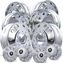 Load image into Gallery viewer, Alcoa 19.5 DuraBright Ford F450/F550 6 Wheel Kit (2005 & Newer 10 Lug)