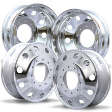 Load image into Gallery viewer, 19.5 Alcoa Dura-Bright 2008-Present Dodge Ram 4500/5500 DRW 10x225mm 4 Wheel Kit