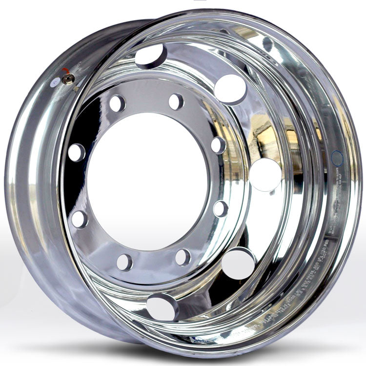 19.5x6.75 Alcoa 8x275mm Hub Pilot High Polish Rear