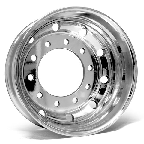 19.5x7.5 Alcoa 10x285mm Hub Pilot DuraBright Evo Rear