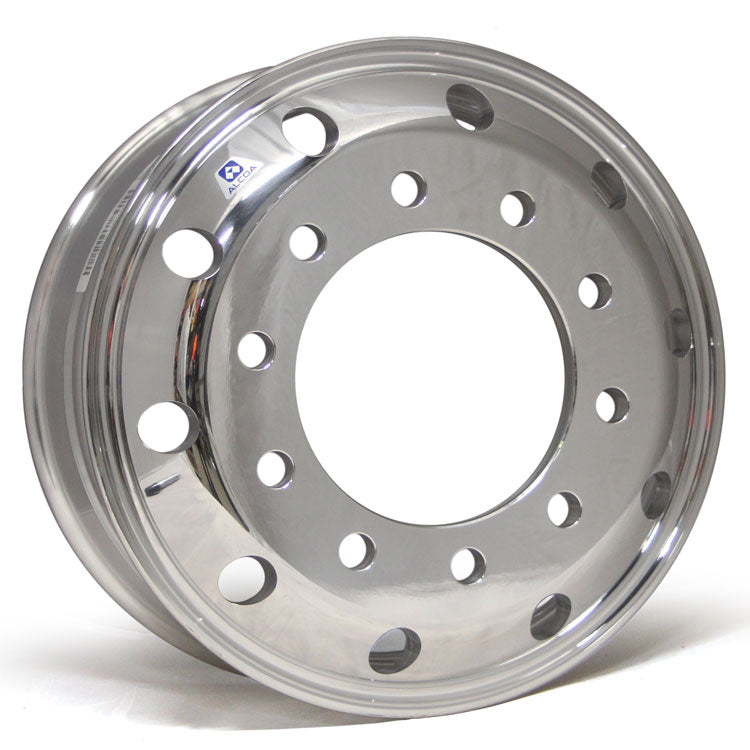 19.5x7.5 Alcoa 10x285mm Hub Pilot High Polished Both Sides