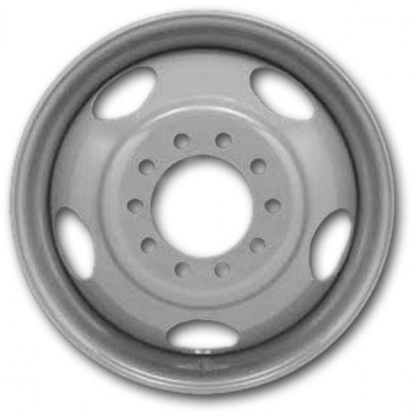 19.5x6 Hub-Pilot Dual 10-Hole (P-300 Chevrolet or GMC Typical)