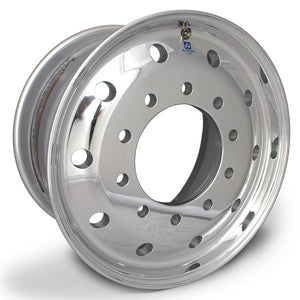 "22.5 x 12.25 Hub Pilot Alcoa 10 x 285mm Flat Face Wheel 4.75"" offset"