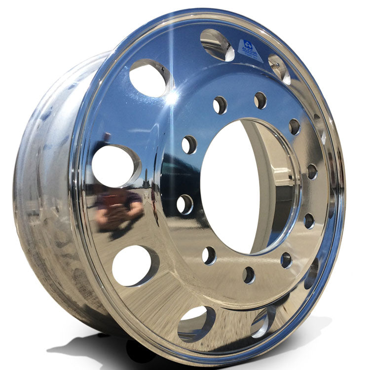 22.5 Alcoa LvL ONE Truck Wheel 22.5 Front View