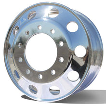 "Load image into Gallery viewer, Alcoa's Mirror Polished dipped in a chemical treatment gets you this Dura-Bright® Evo shine. 22.5"" x 8.25"" Aluminum Wheel"