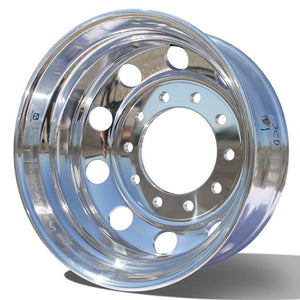 22.5x8.25 Alcoa 10x285mm Hub Pilot DuraBright Evo Rear