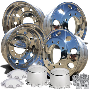 Alcoa New LvL One 22.5 Aluminum Wheel Kit 883677